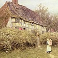 The Priest's House West Hoathly by Helen Allingham