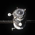 The Progress 46 Spacecraft by Stocktrek Images