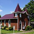 The Purple Church by Paul Mashburn