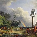 The Rainbow by Philip James de Loutherbourg