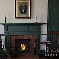 The Rankin Home Fireplace by Charles Robinson