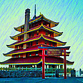 The Reading Pagoda by Bill Cannon