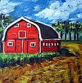 The Red Barn by Lia  Marsman