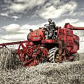 The Red Combine by Rob Hawkins