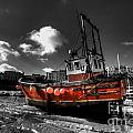 The Red Fishing Boat by Rob Hawkins