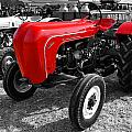 The Red Porsche by Rob Hawkins