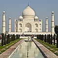 The Reflecting Pool In The Charbagh Or by Lori Epstein