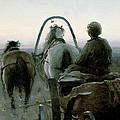 The Return Journey by Abram Efimovich Arkhipov