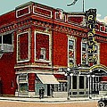The Rialto Theatre In Brooklyn N Y In The 1920's by Dwight Goss