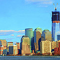The Rising Freedom Tower by Dave Mills