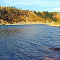 The River In Autumn by Jim Sauchyn