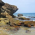 The Rocks At Rincon by Aimee Bruno