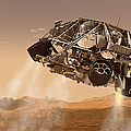 The Rover And Descent Stage For Nasas by Stocktrek Images