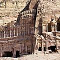 The Royal Tombs Petra, Jordan by Marco Brivio