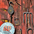 The Rusty Barn - Farm Art by Paul Ward