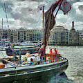 The Sailing Barge Lady Daphne by Steve Taylor