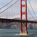 The San Francisco Golden Gate Bridge - 5d18911 by Wingsdomain Art and Photography