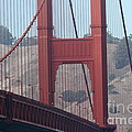 The San Francisco Golden Gate Bridge - 7d19057 by Wingsdomain Art and Photography