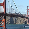 The San Francisco Golden Gate Bridge - 7d19184 by Wingsdomain Art and Photography