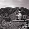 The Schoolhouse In Calico Ghost Town California by Susanne Van Hulst