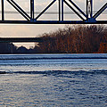 The Schuylkill River At Bridgeport by Bill Cannon