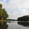 The Schuylkill River At West Conshohocken by Bill Cannon