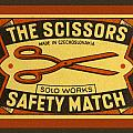 The Scissors Safety Match by Carol Leigh