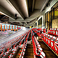 The Seats At Martin Stadium by David Patterson
