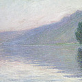 The Seine At Port Villez by Claude Monet
