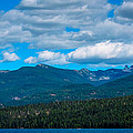 The Selkirk Mountains Of Priest Lake by David Patterson