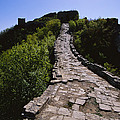 The Simatai Section Of The Great Wall by Raymond Gehman