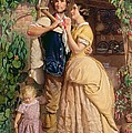 The Sinews Of Old England by George Elgar Hicks