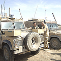 The Snatch Land Rover Used by Andrew Chittock