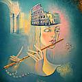 The Song Of The Forgotten Gods by Elena  Makarova-Levina