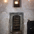 The Stairs To John The Baptist Tomb by Munir Alawi
