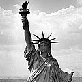 The Statue Of Liberty by Underwood Archives