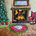 The Stockings Were Hung by Julie Brugh Riffey