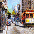 The Streets Of San Francisco . 7d7263 by Wingsdomain Art and Photography