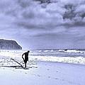 The Surfer by Nuno Lorador Pires