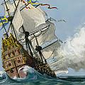 The Swedish Warship Vasa by Ralph Bruce