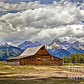 The T. A. Moulton Barn In Grand Teton National Park by Matt Suess