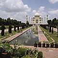 The Taj Mahal In Agra, India by James P. Blair
