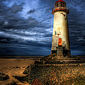 The Talacre Lighthouse by Adrian Evans