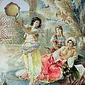 The Tambourine by E Raggi