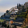 The Terraces Of Amalfi by Bill Cannon