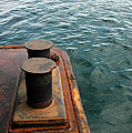 The Tether Strap On A Pontoon Boat by Antoni Halim