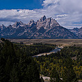 The Tetons - Il by Larry Carr