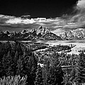 The Tetons by Larry Carr