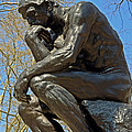 The Thinker By Rodin by Lisa Phillips