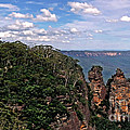 The Three Sisters - The Blue Mountains by Kaye Menner